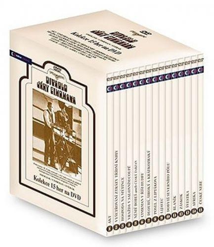 Divadlo Járy Cimrmana - 15 DVD cena od 1343 Kč