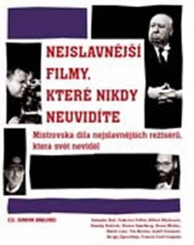 Simon Braund: Nejslavnější filmy, které nikdy neuvidíte cena od 499 Kč