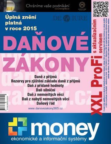 Daňové zákony 2015 XXL ProFi - Komplet tištěné publikace s úplnými zněními daňových zákonů cena od 88 Kč