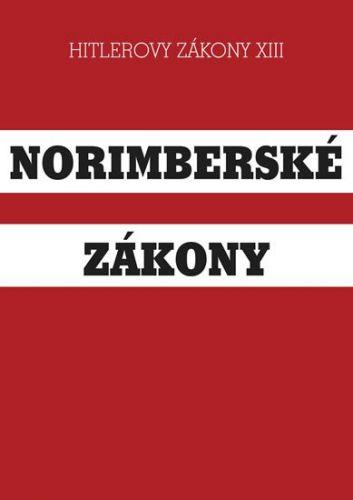 Norimberské zákony cena od 123 Kč
