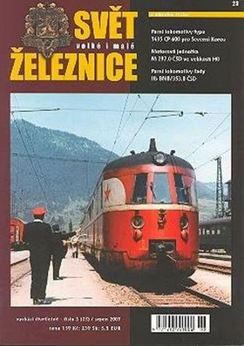Jan Vaněk: Svět železnice 4 (28)/listopad 2008 cena od 144 Kč
