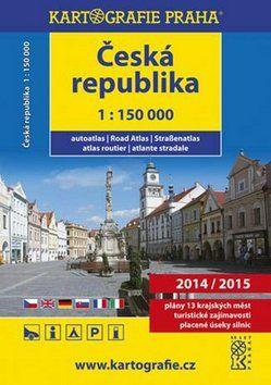 Kartografie PRAHA Autoatlas Česká Republika 1:150 000 2014/2015 cena od 229 Kč