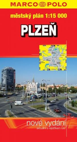 Plzeň - městský plán 1:15 OOO cena od 51 Kč