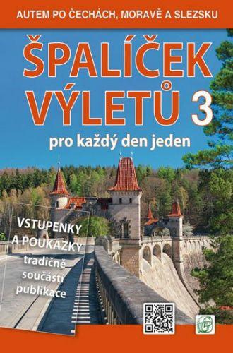Peter David, Vladimír Soukup: Špalíček výletů pro každý den jeden 3. - Autem po Čechách, Moravě a Slezsku cena od 322 Kč