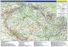 Kartografie PRAHA Česká republika administrativní a obecně zeměpisná mapa cena od 34 Kč