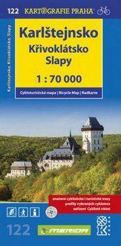 Kartografie PRAHA Karlštejnsko Křivoklátsko Slapy cena od 62 Kč
