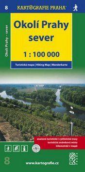 Kartografie PRAHA Okolí Prahy Sever 1:100 000 cena od 55 Kč
