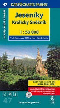 Kartografie PRAHA Jeseníky Kralický Sněžník 1:50 000 cena od 67 Kč