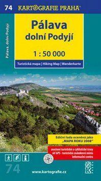Kartografie PRAHA Pálava 1:50 000 cena od 63 Kč