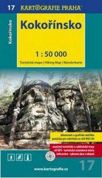 Kartografie PRAHA Kokořínsko 1:50 000 cena od 69 Kč