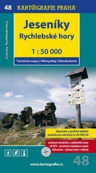 Kartografie PRAHA Jeseníky Rychlebské Hory 1:50 000 cena od 63 Kč
