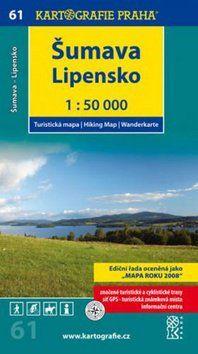 Kartografie PRAHA Šumava Lipensko 1:50 000 cena od 69 Kč