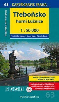Kartografie PRAHA Třeboňsko Horní Lužnice 1:50 000 cena od 69 Kč