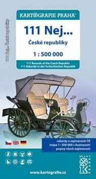 Kartografie PRAHA 111 nej...České Republiky 1:500 000 cena od 62 Kč
