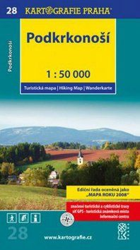 Kartografie PRAHA Podkrkonoší 1:50 000 cena od 67 Kč