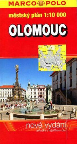 Olomouc městský plán 1:10000 cena od 51 Kč