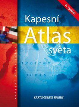 Kapesní atlas světa cena od 180 Kč