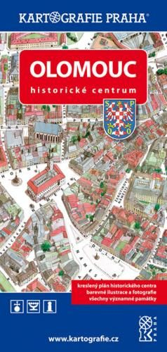 Kartografie PRAHA Olomouc Historické centrum cena od 70 Kč