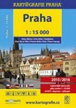 Kartografie PRAHA Atlas Prahy v měřítku 1:15 000 cena od 199 Kč