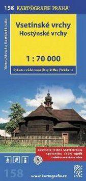 Vsetínské vrchy Hostýnské vrchy cena od 59 Kč