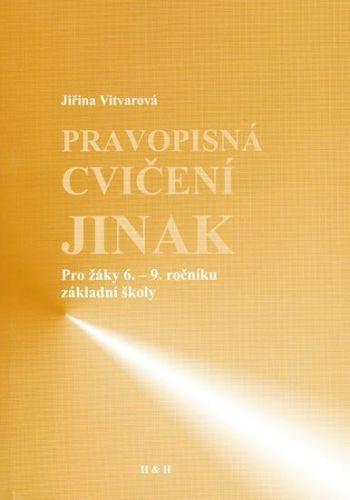 Jiřina Vitvarová: Pravopisná cvičení jinak cena od 67 Kč