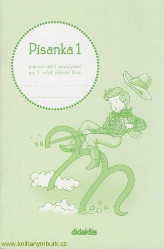 Halasová Jitka: Písanka 3 - 1. díl (pro 3. roč. ZŠ) cena od 35 Kč