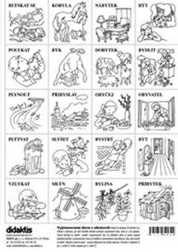 Vyjmenovaná slova v obrázcích cena od 23 Kč