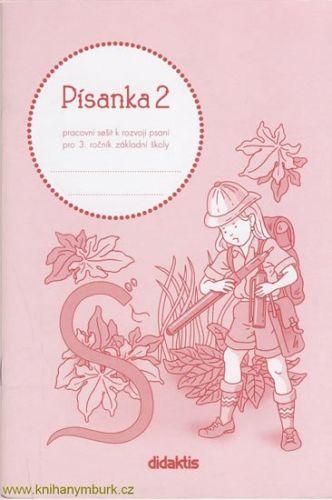 Halasová Jitka: Písanka 3 - 2. díl (pro 3. roč. ZŠ) cena od 35 Kč