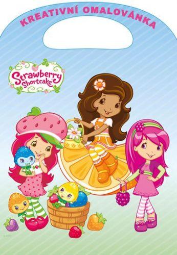 Strawberry - Kreativní omalovánky A4 s výsekem cena od 35 Kč