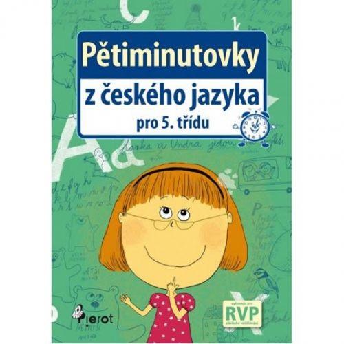 Petr Šulc: Pětiminutovky z českého jazyka pro 5. třídu cena od 39 Kč