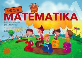 TAKTIK Hravá Matematika 1 Pracovná učebnica pre 1. ročník ZŠ 1. časť cena od 67 Kč