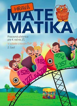 Hravá matematika 4 2. diel cena od 95 Kč