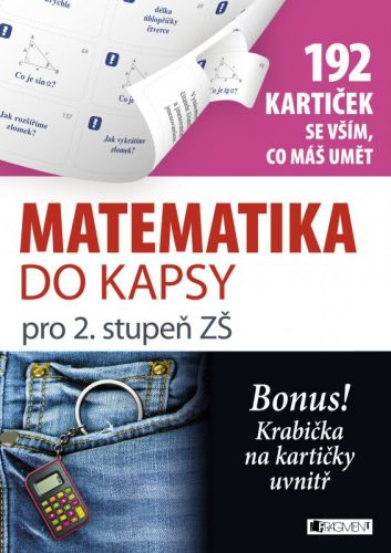Jaroslav Eisler: Matematika do kapsy pro 2. stup. ZŠ (192 kartiček) cena od 70 Kč
