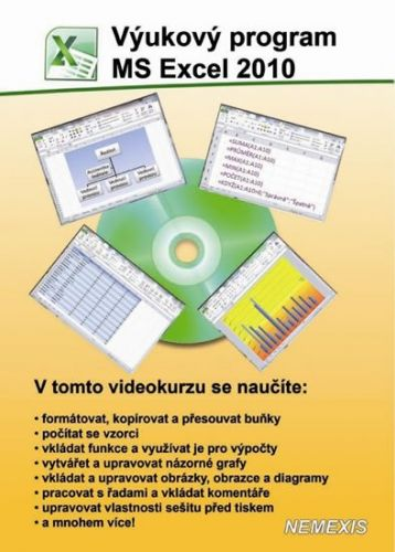 Výukový program MS Excel 2010 - CD cena od 130 Kč