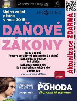 DonauMedia Daňové zákony 2015 cena od 129 Kč