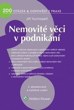 Jiří  Vychopeň: Nemovité věci v podnikání cena od 205 Kč