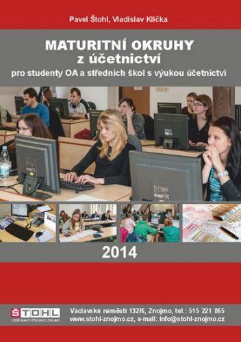 Pavel Štohl, Vladislav Klička: Maturitní okruhy z účetnictví 2014 cena od 127 Kč