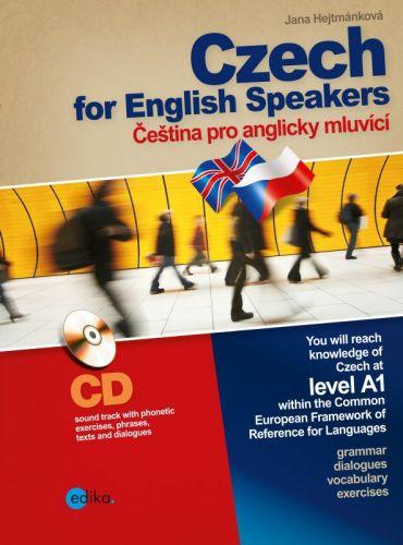 Jana Hejtmánková: Czech for English Speakers / Čeština pro anglicky mluvící cena od 279 Kč