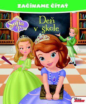 Walt Disney: Začíname čítať Sofia Prvá Deň v škole cena od 119 Kč