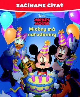 Walt Disney: Začíname čítať Mickey má narodeniny cena od 98 Kč