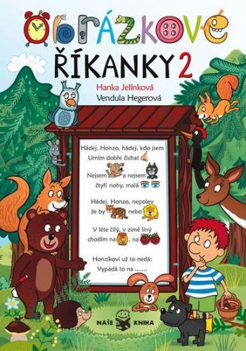 Jelínková Hanka, Vendula Hegerová: Obrázkové říkanky 2 cena od 117 Kč