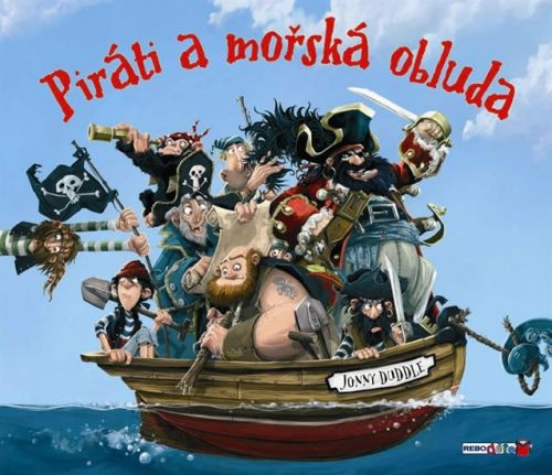 Jonny Duddle: Piráti a mořská obluda cena od 199 Kč
