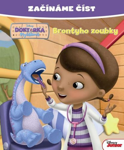 Walt Disney: Doktorka Plyšáková - Brontyho zoubky - Začínáme číst cena od 79 Kč