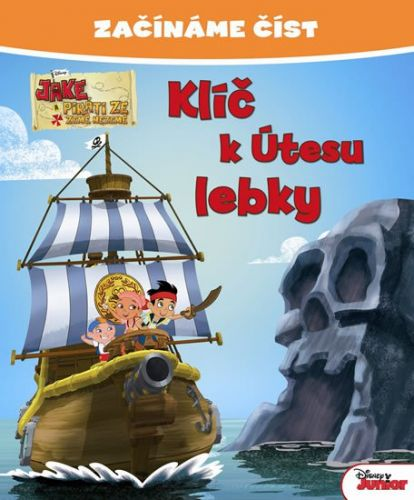 Walt Disney: Jake a piráti - Klíč k Útesu lebky - Začínáme číst cena od 33 Kč