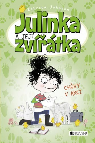 Rebecca Johnson: Julinka a její zvířátka - Chůvy v akci cena od 91 Kč