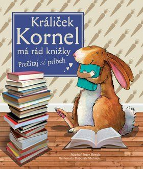 Svojtka Králiček Kornel má rád knižky cena od 130 Kč