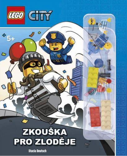 Stacia Deutsch: LEGO® CITY Zkouška pro zloděje cena od 182 Kč