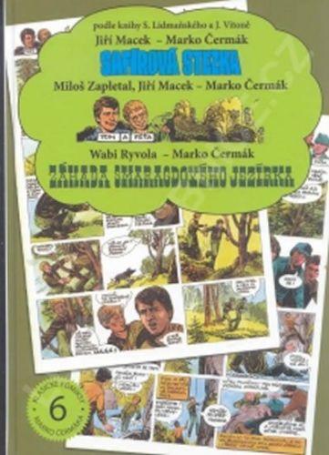 Safírová stezka / Tom a Péťa / Záhada Smaragdového jezírka cena od 216 Kč