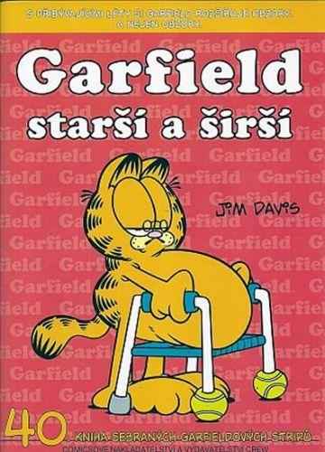 Jim Davis: Garfield Starší a širší (č.40) cena od 73 Kč