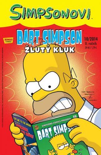 Matt Groening: Simpsonovi - Bart Simpson 10/2014 - Žlutý kluk cena od 26 Kč